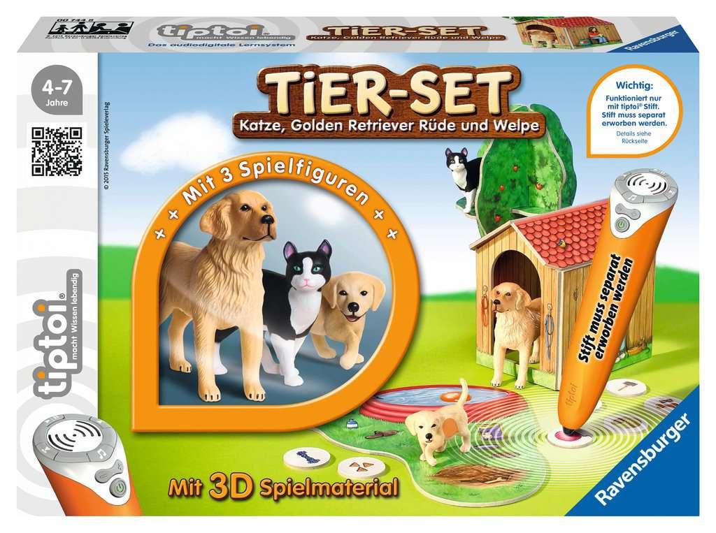 tiptoi® Tier-Set Golden Retriever