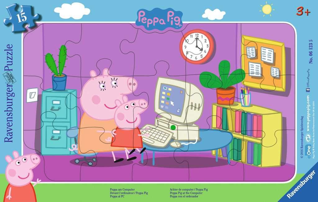 Peppa am Computer