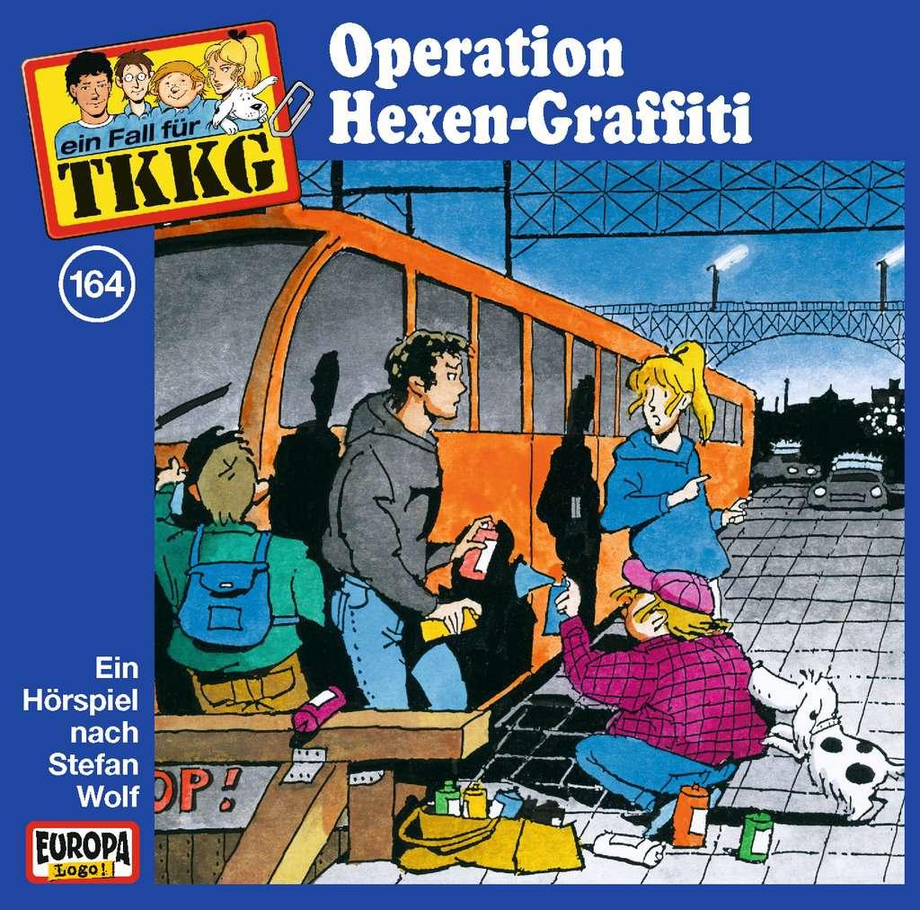 TKKG 164 - Operation Hexen-Graffiti