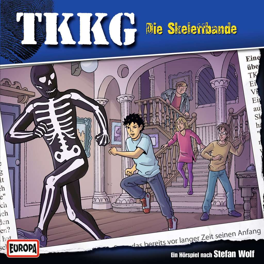 TKKG 173 - Die Skelettbande