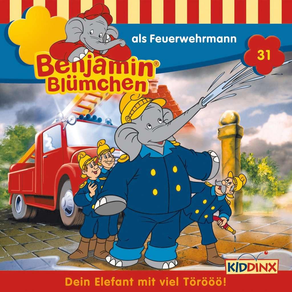 Benjamin Blümchen - ...als Feuerwehrmann