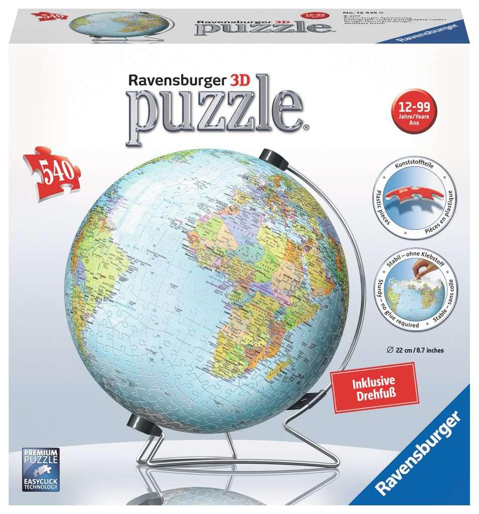 Globus in deutscher Sprache