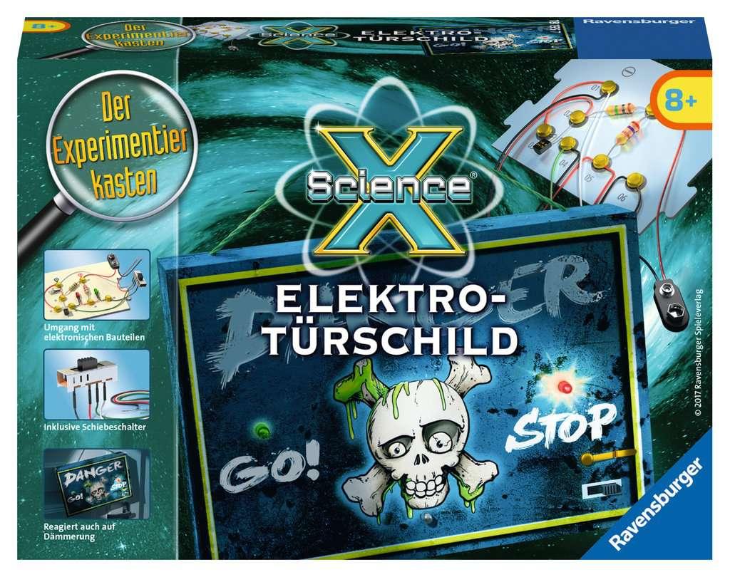 ScienceX Elektro-Türschild