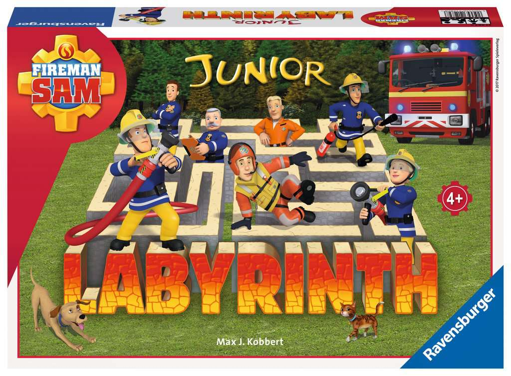 Fireman Sam Junior Labyrinth