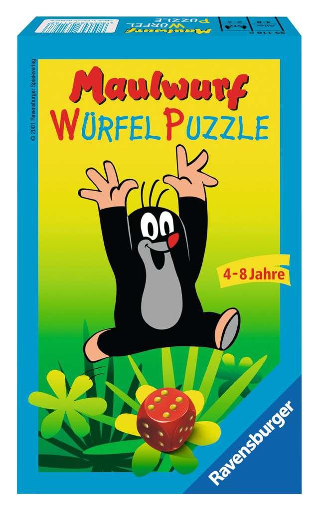 Der Maulwurf Würfelpuzzle