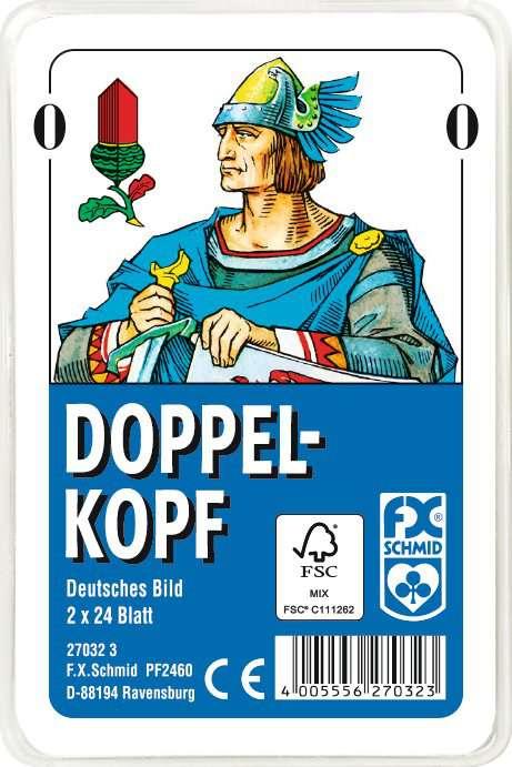 Doppelkopf, Deutsches Bild