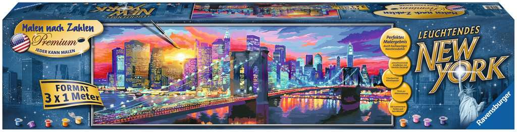 Leuchtendes New York