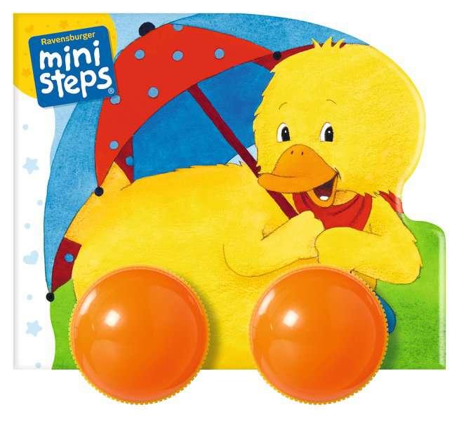 Mein erstes Räder-Rasselbuch: Los geht's, kleine Ente!