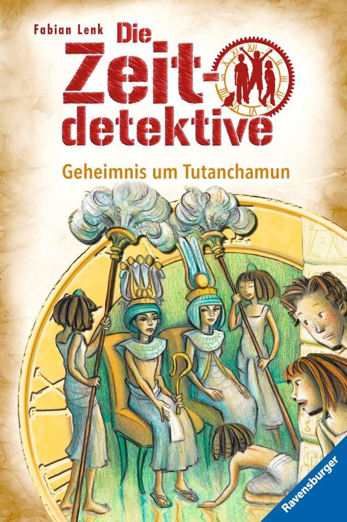 Die Zeitdetektive, Band 5: Geheimnis um Tutanchamun