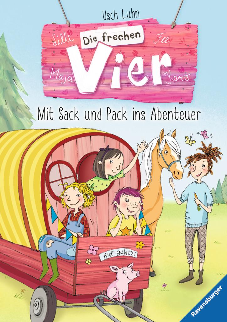 Die frechen Vier, Band 3: Mit Sack und Pack ins Abenteuer
