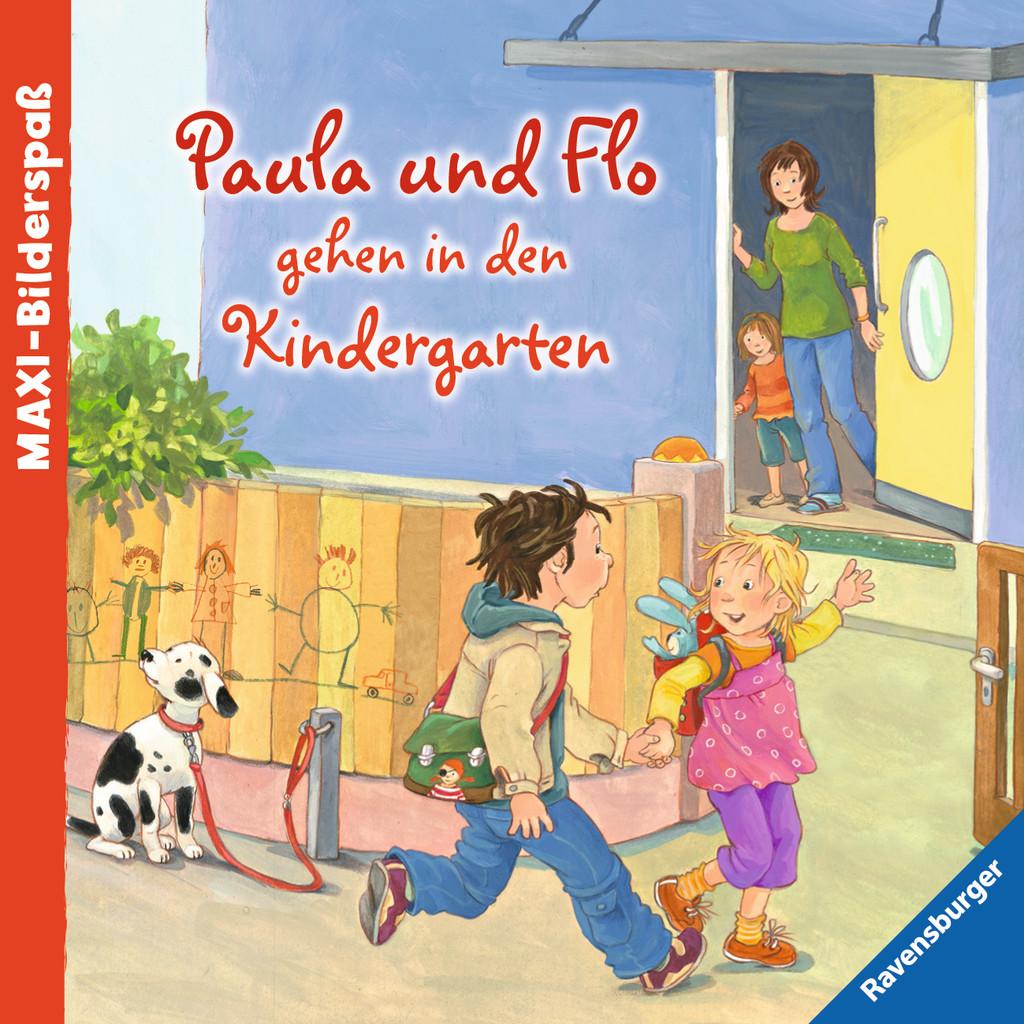 Paula und Flo gehen in den Kindergarten