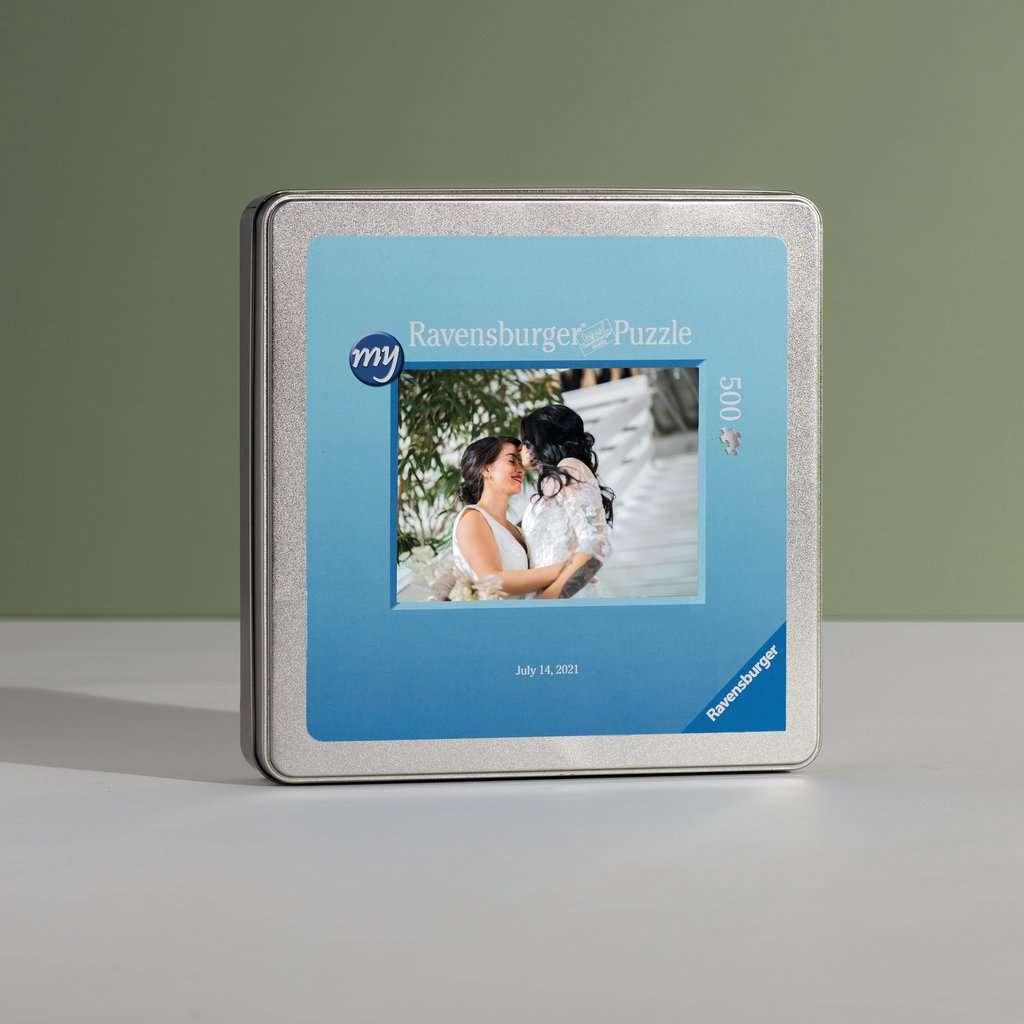 my Ravensburger Puzzle – 500 Teile in Metalldose