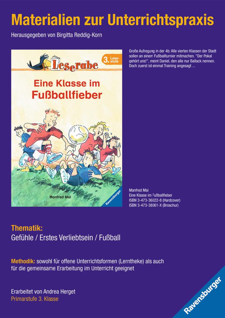 Materialien zur Unterrichtspraxis - Manfred Mai: Eine Klasse im Fußballfieber