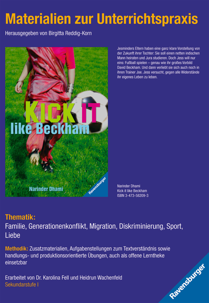 Materialien zur Unterrichtspraxis - Narinder Dhami: Kick it like Beckham