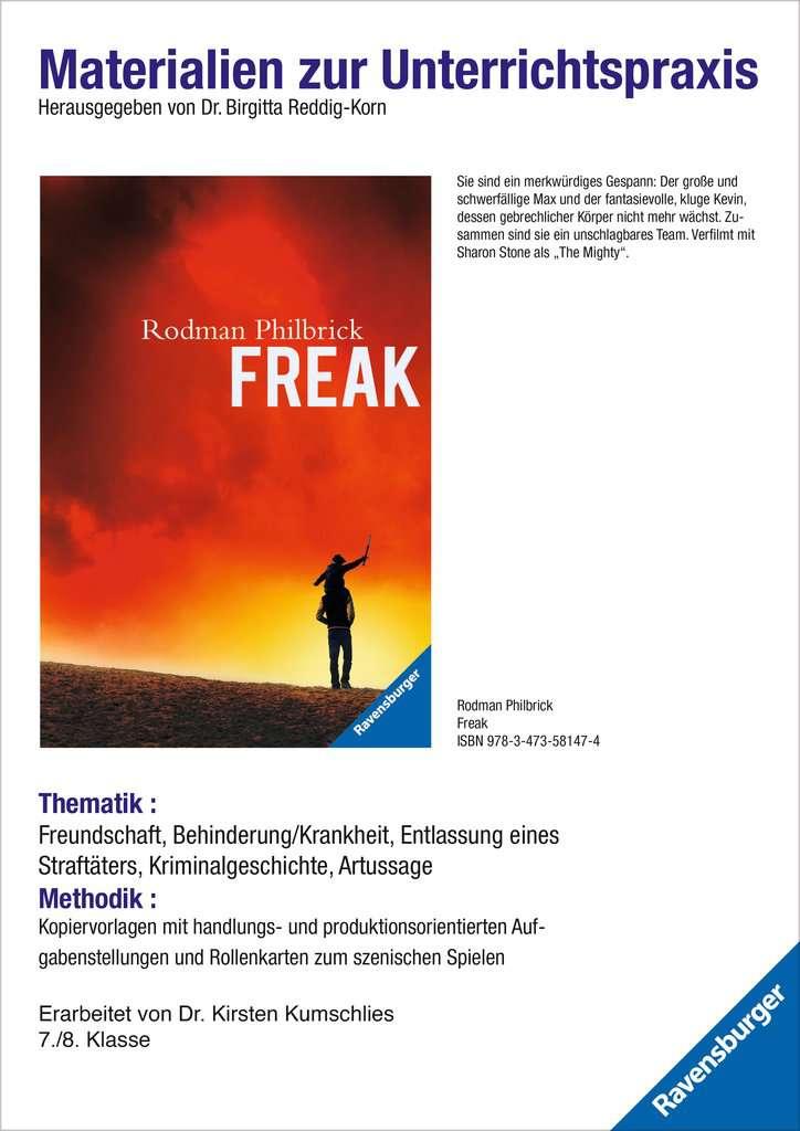 Materialien zur Unterrichtspraxis - Rodman Philbrick: Freak