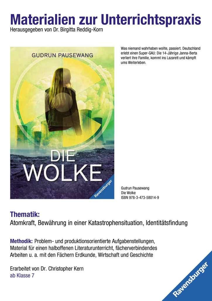 Materialien zur Unterrichtspraxis - Gudrun Pausewang: Die Wolke