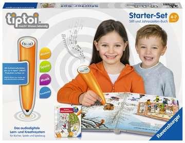 tiptoi® Starter-Set: Stift und Jahreszeiten-Buch