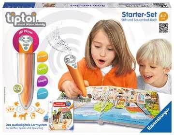 tiptoi® Starter-Set: Stift und Bauernhof-Buch