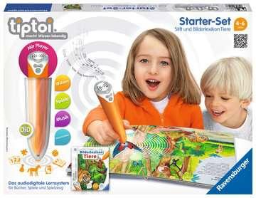 tiptoi® Starter-Set: Stift und Bilderlexikon Tiere