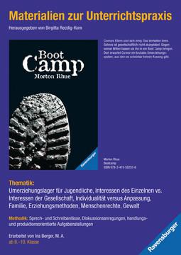 Materialien zur Unterrichtspraxis - Morton Rhue: Boot Camp